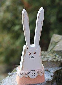 Dekorácie - Veľkonočný zajac - 10417911_