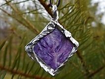 Náhrdelníky - čarovný minerál III-čaroit - 10421301_