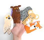 Bábky na prsty: Gruffalo