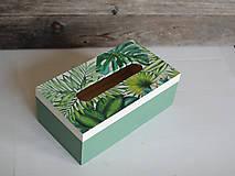 Krabičky - Box na vreckovky - 10419598_