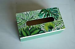 Krabičky - Box na vreckovky - 10419599_