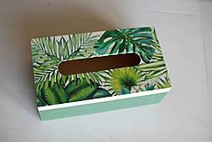 Krabičky - Box na vreckovky - 10419601_