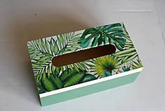 Krabičky - Box na vreckovky - 10419602_