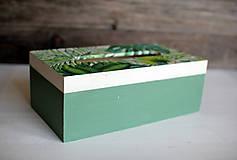 Krabičky - Box na vreckovky - 10419603_