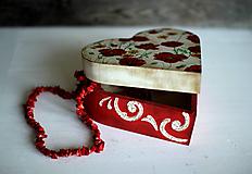 Krabičky - Srdiečková šperkovnica - 10419711_