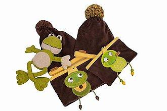 Detské súpravy - Jedinečný set so žabkou - 10420479_