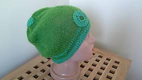 Čiapky - Čiapka zelená - 10421361_