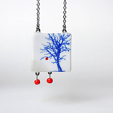 Náhrdelníky - Jablko nepadá daleko od stromu... - 10419576_