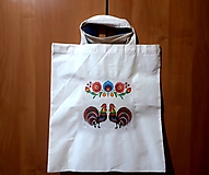 Nákupné tašky - Nákupná folklórna taška - 10419908_