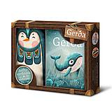 Knihy - Gerda - kufrík (tučniak) - 10418380_