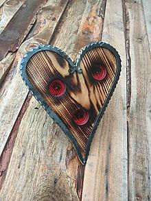 Svietidlá a sviečky - Svietnik -Srdce zajatého jaseňa- - 10420133_