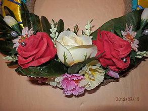 Dekorácie - Sviatočné ruže - 10419923_