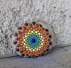 Dekorácie - Gaderský hnedý - Na kameni maľované - 10420644_