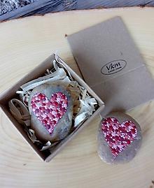 Drobnosti - Červené srdiečko - Valentínka - 10422026_
