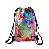 Batohy - Softshellový ruksak FLOWERS 2 - 10421174_