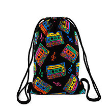 Batohy - Softshellový ruksak KAZETKY - 10421141_