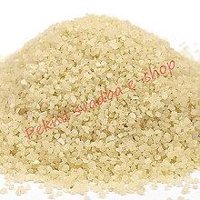 Iný materiál - Dekoračný piesok - maslová farba - 400 g - 10419304_