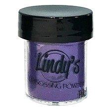 Pomôcky/Nástroje - Lindy's Stamp Gang Polka Purple - embossingový prášok - 10419694_