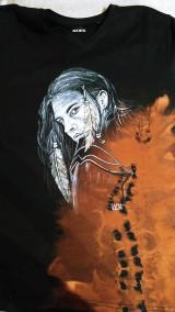 Oblečenie - Pánske tričko s indiánskym motívom - 10420212_
