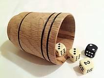 Drobnosti - Pohárik na hru v kocky - 10420687_