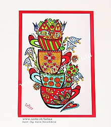 Kresby - HRNČEKOVÁ ULICA ♥ 21 x 14,5 cm - 10422049_