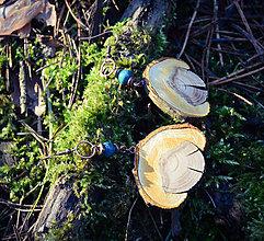 Náušnice - Stromčeky - 10420052_