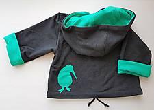 Detské oblečenie - Kivi Igor (bunda + čiapka) - 10420378_
