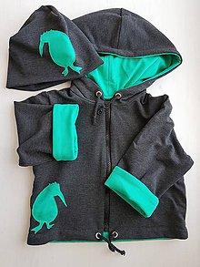 Detské oblečenie - Kivi Igor (bunda + čiapka) - 10420377_