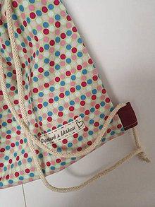 Iné tašky - Farebný bodkovanec - 10419903_