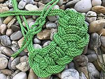 Náhrdelníky - Náhrdelníky z lana - 10421817_
