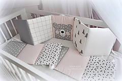 Textil - Sada NORDIC/mantinel,podlhovastý vankúš/deka/macko - 10424765_