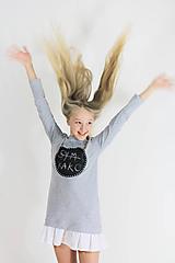 Detské oblečenie - Detské tabuľové šaty MD2 - 10423815_