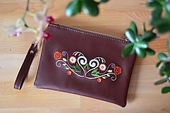 Kabelky - Lada kabelka (čokoládová) - 10424111_