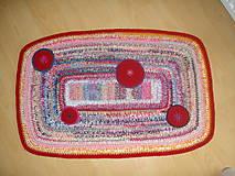 Úžitkový textil - koberček - 10422702_