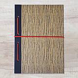 Papiernictvo - MADEBOOK zošit A5 - čierny - 10423908_