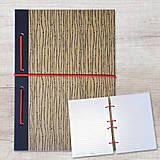Papiernictvo - MADEBOOK zošit A5 - čierny - 10423909_