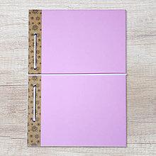 Papiernictvo - MADEBOOK zošit A5 - ružový - 10423880_
