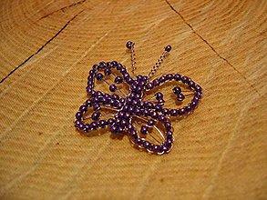 Magnetky - Motýlik - 10425057_