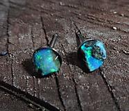Náušnice - earrings le opalas-nature - 10425995_