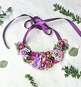 Náhrdelníky - Kvetinový náhrdelník - 10423581_