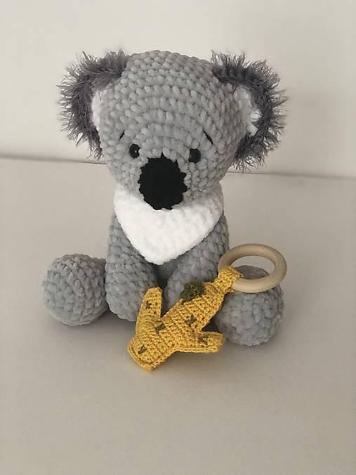 Háčkovaná koala Koko / Crochet koalabear Koko