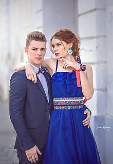 Opasky - Exkluzívny ľudový opasok - 10426089_
