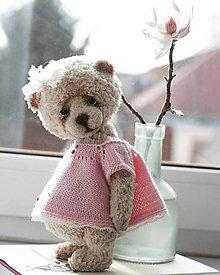 Hračky - Medvedica Amelia - 10424575_