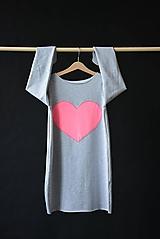 """Detské oblečenie - Teplákové balónové šaty/tunika """"mama a dcéra"""" Matylda - 10423575_"""