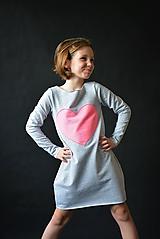 """Detské oblečenie - Teplákové balónové šaty/tunika """"mama a dcéra"""" Matylda - 10423594_"""