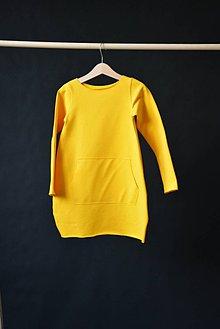 Detské oblečenie - Teplákové šaty/tunika Looan Kengoo - 10423823_