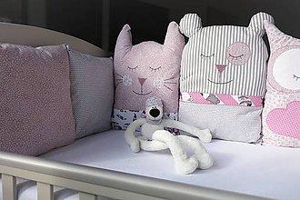 Textil - Mantinel do postieľky Nr.705 Spinkáčikovia - 10425401_