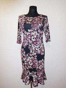 Šaty - Abstraktní květy - 10423451_