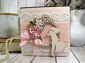 Papiernictvo - Rosie svadobná pohľadnica - 10424030_