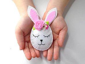 Dekorácie - Vajíčko alebo ... (zajačik 2.) - 10422296_
